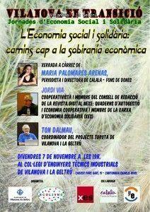 ECOL3VNG. Jornades economia social. L'economia social_camins cap a la sobirania econòmica