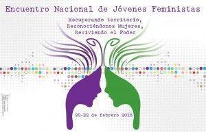 CartelEncuentro_JovenesFeministas_febrero2015