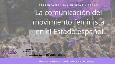 comunicación 8M 2018