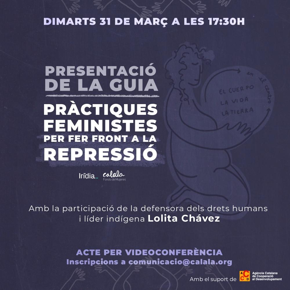 webinar practicas feministas frente a la represion