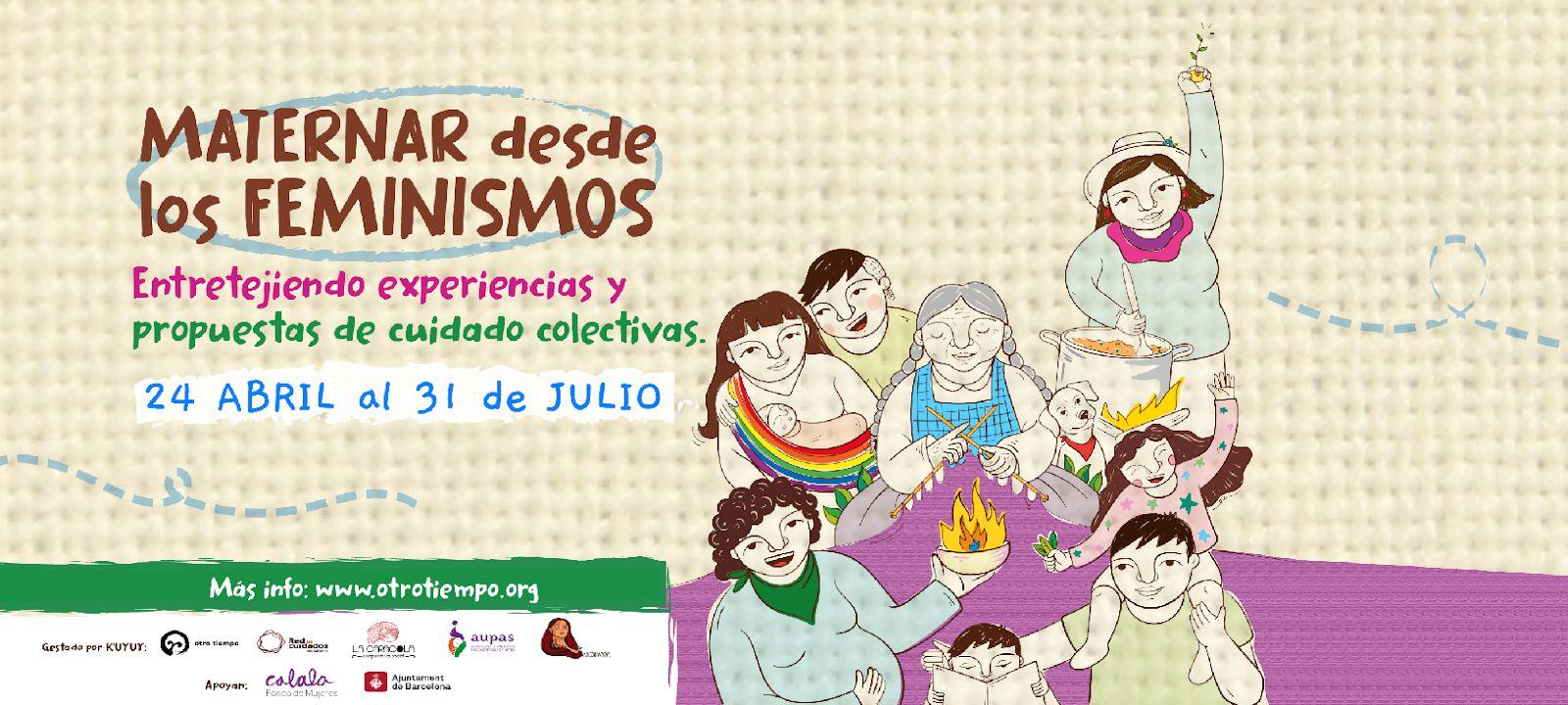 taller maternidades feminismos kuyuy